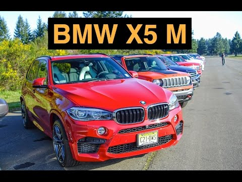2015 BMW X5 M - Track Review & Test Drive