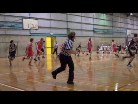 Matthew Collins #20 Bendigo tournament   Geelong Supercats vs Ballarat Miners