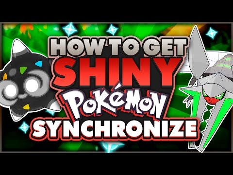 COMPETITIVE SHINY POKEMON! HOW TO SYNCHRONIZE in POKEMON SUN AND MOON!