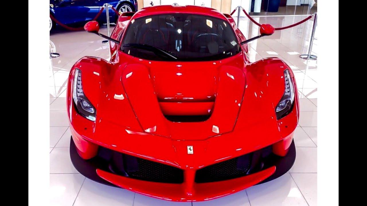 Ferrari 458 Spider Start Up Laferrari In Rosso Corsa Red