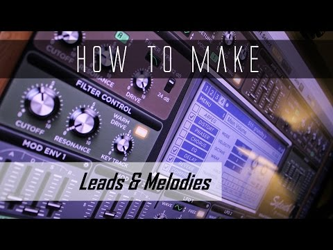 How to make Progressive House Leads & Melodies   Sylenth1 Tutorial