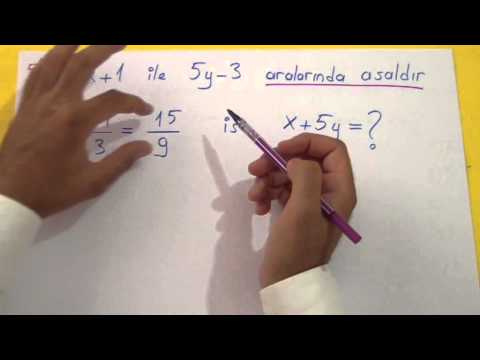 Asal Sayılar Soru Çözümü Şenol Hoca Matematik