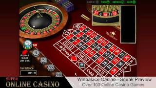 WinPalace Casino Sneak Preview - SuperOnlineCasino