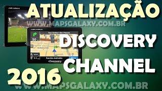 Atualização 2015 GPS Aquarius Discovery Channel 2015 +4 Mapas