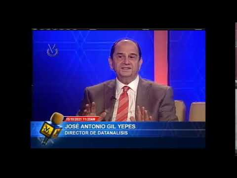 Entrevista Venevisión: José Antonio Gil , Director General de Datanalasis - 15 de octubre de 2021