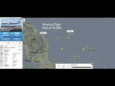 Malaysian missing plane MH370 Altitude mystery RELATED to KOREAN plane KAL672