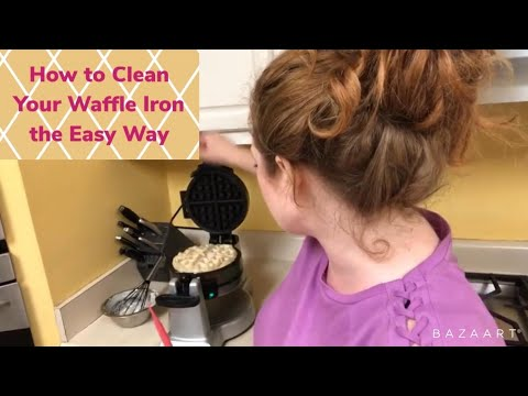 Easiest Way to Clean Your Waffle Iron
