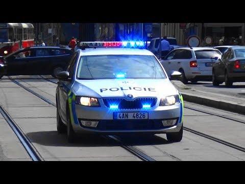 Škoda Octavia Policie ČR Praha [sestřih - Zusammenschnitt]