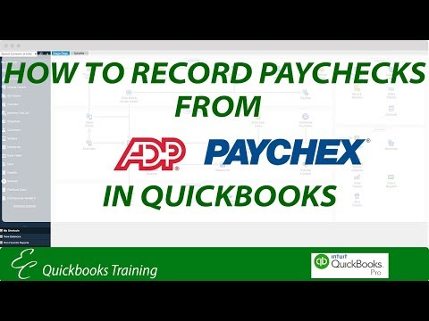 How To Record ADP Paychecks In QuickBooks