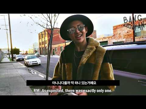 [ENG] 150305 [BTS in NAVER STAR CAST] Rap Monster with Warren G (1/3)