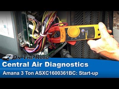 Central Air Conditioner Start Up Compressor Amperage #1