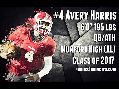 #4 Avery Harris / QB,ATH / Munford High (AL) Class of 2017