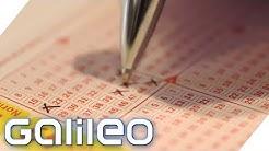 Lotto-Millionär mit nur 3 Richtigen | Galileo | ProSieben