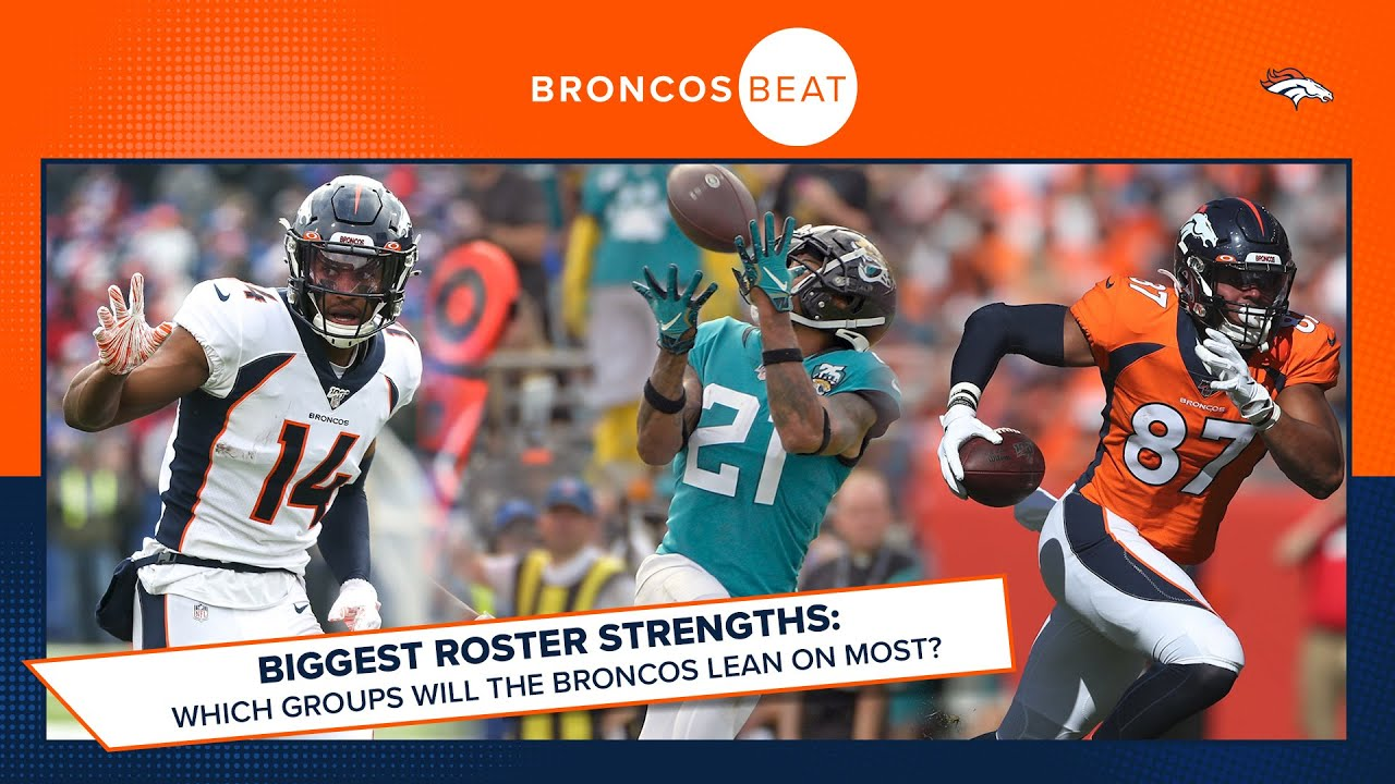 Which position groups will Denver lean on most in 2020?   Broncos Beat