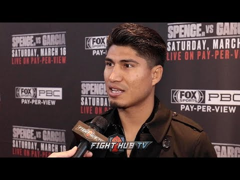 "MIKEY GARCIA ON WHY HES NOT AFRAID OF ERROL SPENCE JR ""I KNOW WHAT IM CAPABLE OF!"""