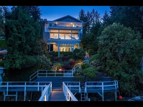 Ideal Home for a Waterfront Lifestyle in North Vancouver, Canada