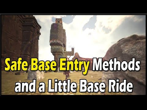 Conan Exiles - Safe Base Entry Methods and a Little Base Ride 🔴