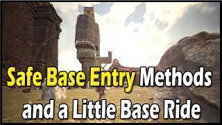 Conan Exiles - Safe Base Entry Methods and a Little Base Ride 🔴