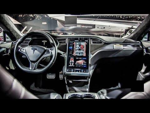 Tesla Model S 2018 The Interior Is Designed Around Cutting Edge Technology