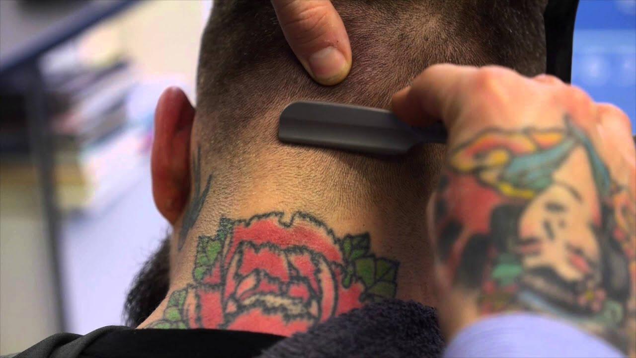 Sid Sottung - Barbering Demonstration