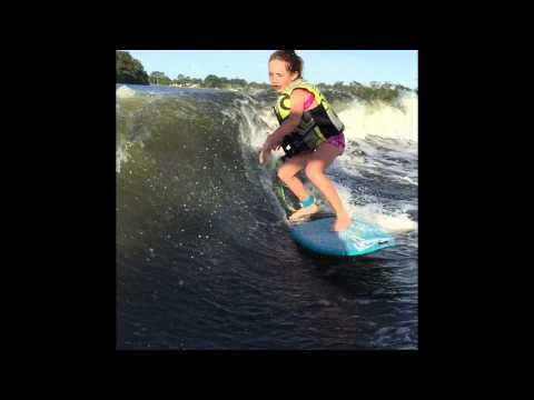 Sierra Kerr Wakesurfing Tige Boats . Josh Kerr daughter Sierra Kerr air .