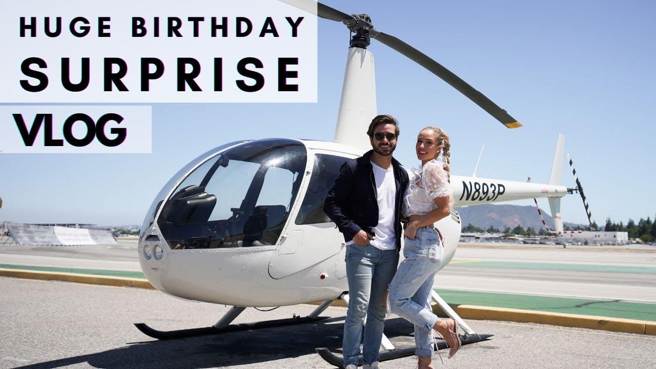 HUGE BIRTHDAY SURPRISE! | Robbi & Alex Vlog