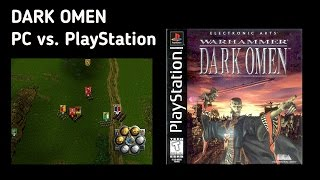 Warhammer: Dark Omen 1080p. PC vs PlayStation