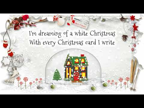 George Strait - White Christmas (Lyric Video)