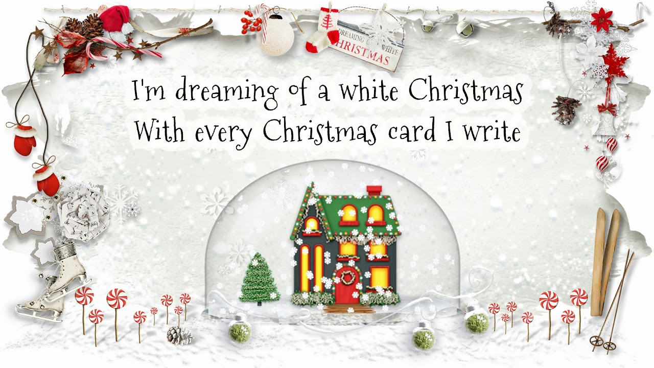 George Strait - White Christmas (Lyric Video), 1986 - YouTube