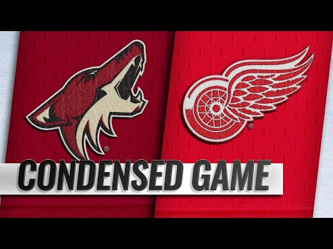 11/13/18 Condensed Game: Coyotes @ Red Wings