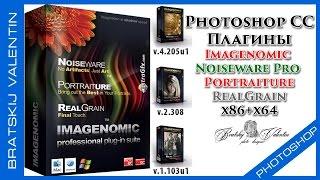 Скачать и установить плагины Imagenomic Noiseware Pro Portraiture RealGrain
