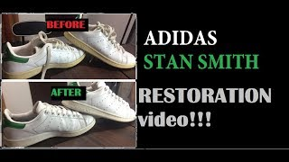HOW TO CLEAN STAN SMITH (tutorial video