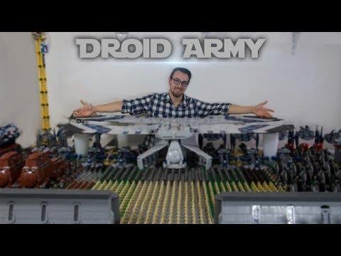Huge Lego Droid Army 2018 Ft. Massive Landing Craft