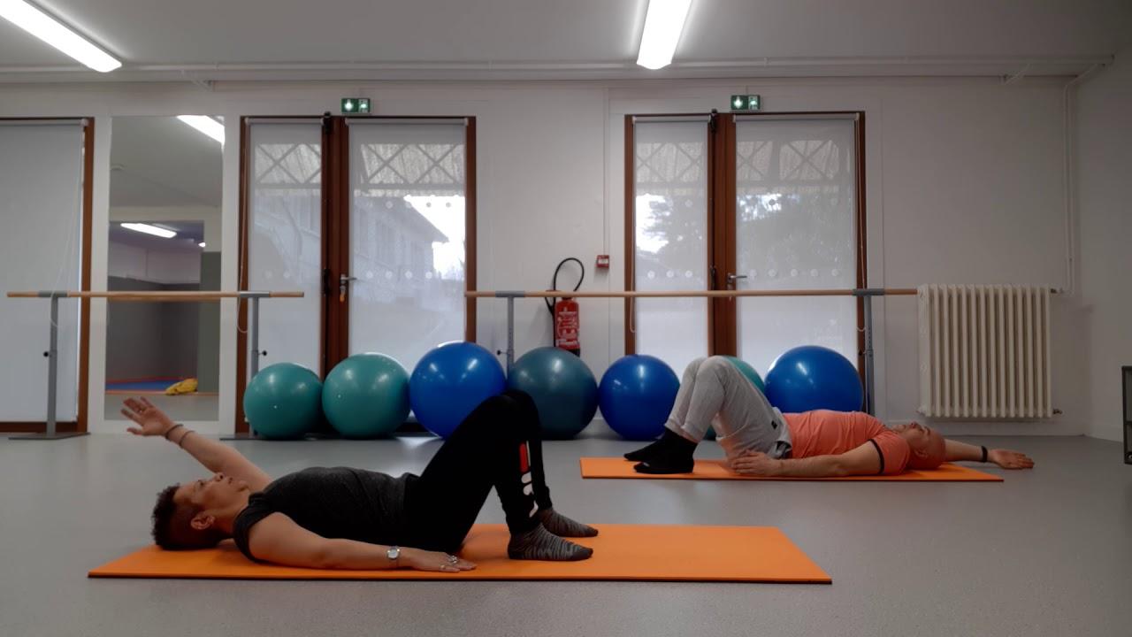 Duo sportif, Yasmine et Stéphane en Pilates