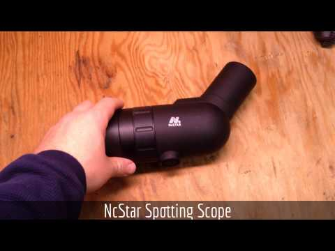 NcStar 9-27x Spotting Scope Initial Impressions