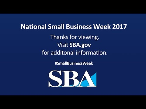 National Small Business Week 2017 – Indianapolis, IN