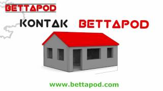 Bettapod - Ons bou tuinwoonstelle - We build granny flats