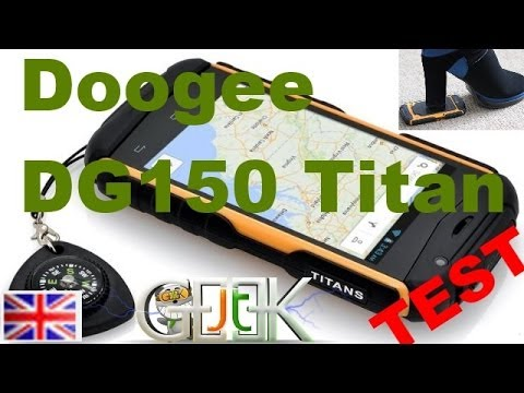 Doogee DG150 Titan Video test (eng)