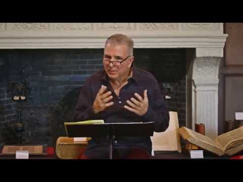 Dan Buttafuoco lectures on the Bible at Long Island University C.W. Post Campus