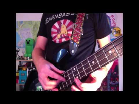 Tapping exercise : A Bass lesson everyday # 121