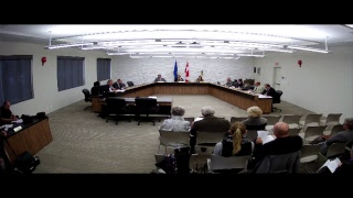Town of Drumheller Council Organizational Meeting of October 30, 2017
