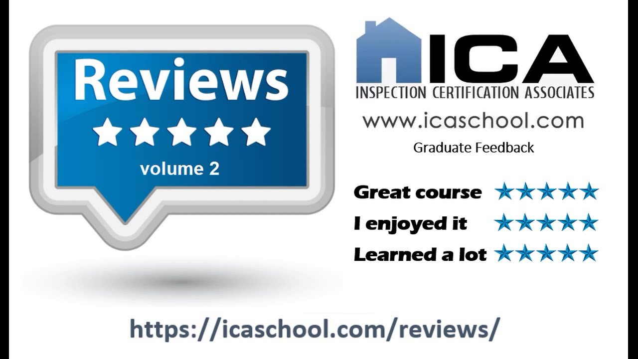 Home Inspection Training Online Reviews Ica Volume