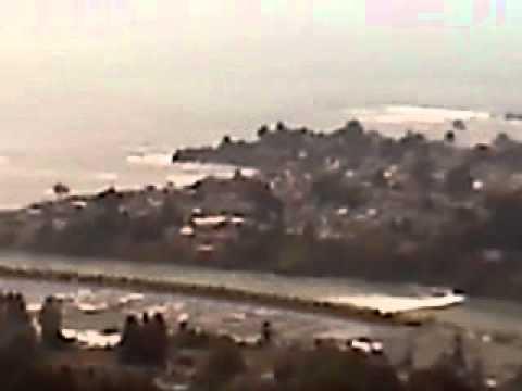 Brookings Tsunami wave Chetco River