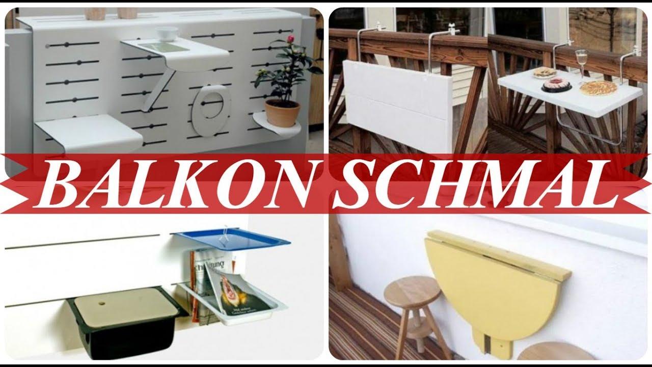 balkongestaltung schmaler balkon youtube. Black Bedroom Furniture Sets. Home Design Ideas