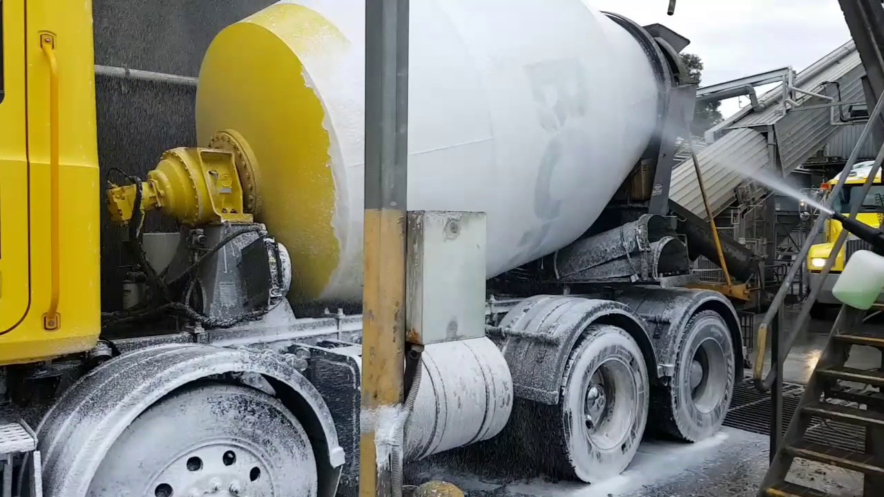Foam Cannon Soap >> Touchless Truck Cleaning - YouTube