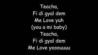 Vybz Kartel You a mi baby lyrics