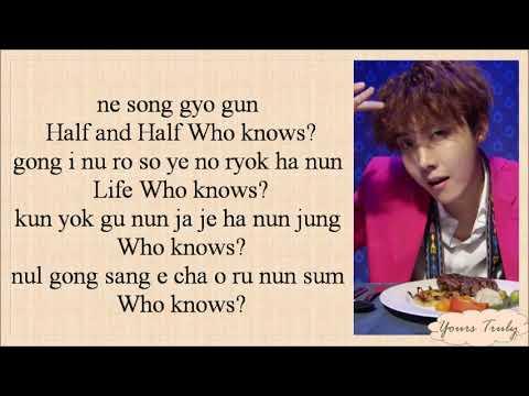 J-HOPE (BTS방탄소년단) - Daydream (백일몽) Easy Lyrics