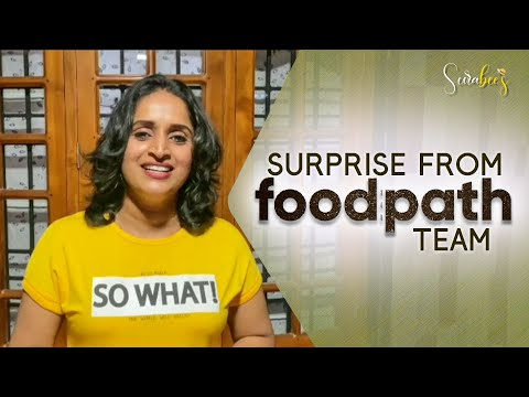 Surprise By Food Path Team || Jithu K Jayan | Ayyoob Kachery | Surabhi Lakshmi