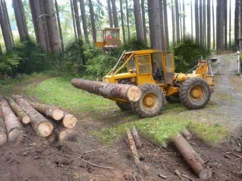 LKT 81T - Kolínek: LKT 81T turbo - přibližování dřeva práce v lese zrywka drewna skidder forest forst machine machines machinery praca w lesie