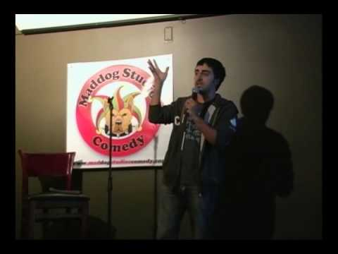 Amir Talai performs at The Press Box Comedy Night Fall 2009